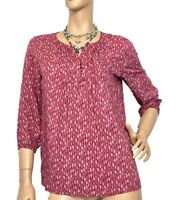 CAPTURE SIZE 10 PEASANT STYLE TOP