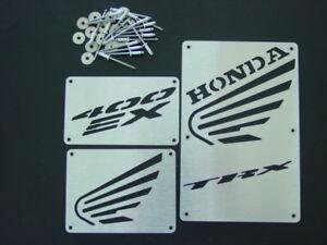 HONDA TRX 400 400EX TRX400EX EX TRX400 CUSTOM WARNING LABEL COVERS TAGS PLATES