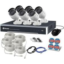 Swann NVR8-8000 4K UHD 2TB HDD 6 x NHD-850 Bullet 5MP POE Camera RRP $2499