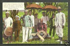 Sultan of Magindanao Mindanao Philippines ca 1906