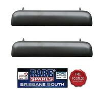 BLACK HOLDEN OUTER DOOR HANDLE S (2) FIT LH LX UC & HQ HJ HX HZ WB MONARO GTS