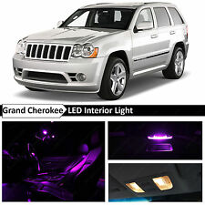 12x Purple Interior LED Lights Package for 2005-2010 Jeep Grand Cherokee