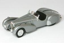 Bugatti 57s roadster Derain-Argent-année 1937 - 1:43 spark 2717
