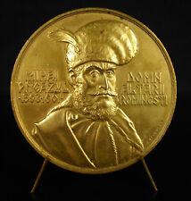 Médaille Mihai Viteazul Roumanie Valachie Transylvanie Moldavie Strehaia medal