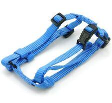 "HAMILTON Adjustable Nylon Comfort Dog Harness, Small (5/8"" x 12""-18""), Blue"