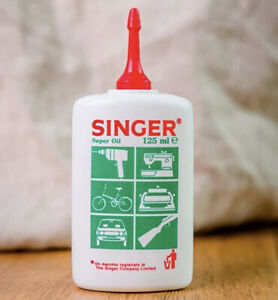 Singer Sewing Machine Oil 125ml - Multi Purpose Quality Fine Oil