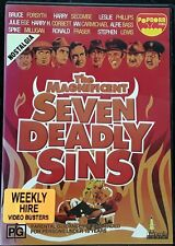 The Magnificent Seven Deadly Sins (DVD, 1971) - Region 4