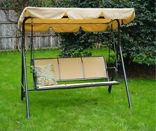 Decatur 3 Person Outdoor Porch Swing with Stand , Multi - Color