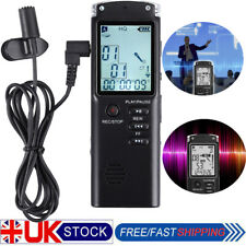 16gb Rechargeable Digital Audio/sound/voice Recorder Dictaphone Mp3 Player USB