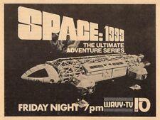1975 Wavy Tv Ad~Space 1999 Science Fiction Series~Norfolk,Virginia