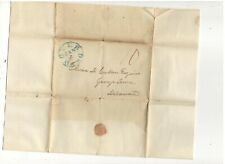 1842 STAMPLESS FOLDED LETTER, DOVER, DEL, REF: PETITION FOR SECURITY