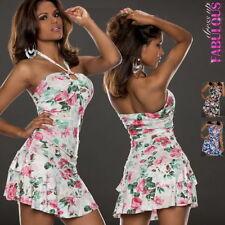 Viscose Clubwear Floral Dresses for Women
