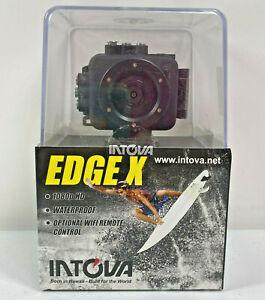 Intova EDGE X Waterproof Marine Action Camera Cam 1080p