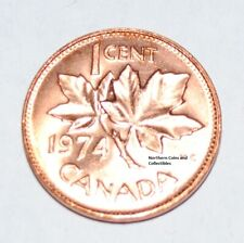 1974 1 Cent Canada Copper Nice Uncirculated