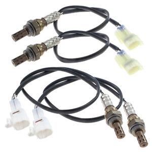 4pcs O2 Oxygen Sensor Upstream &Downstream Fit For Suzuki XL-7 Grand Vitara 2.7L