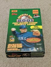 2001 TOPPS OPENING DAY BASEBALL - RETAIL BOX (22) PACKS / SEALED !