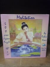 Meditation Puzzle Robin Koni Unicorn Sunsout 18 x 24 500 Pc New Sealed