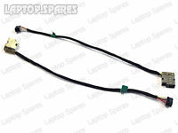 HP Pavilion 15-E006EA DC Power Port Jack Socket Connector And Cable Wire DW583