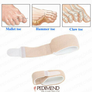 2/5PCS Hammer Toe Straightener Wrap for Overlapping Toe and Crooked Toes UK ga