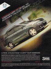 B- Publicité Advertising 2009 Mazda 5