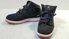 Nike Air Jordan 1 Phat Black Sneakers Kids/Girls 6Y