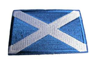 Scotland St Andrews The Saltire Flag Embroidered Patch Badge Iron Sew on Patch