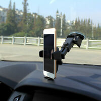 Gravity Cradle Phone Holder Car Windshield Suction Cup Mount For iPhone Samsung
