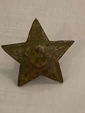 WW2 1940s Russian USSR Officer Cockade Badge Star Military