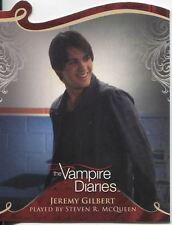 Vampire Diaries Season 1 Die Cut Chase Card D05 Jeremy Gilbert