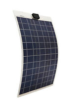 Solar Energy 80W 12V Flexible Solar Panel of Aluminum Substrate for Car Boat AU