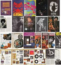 Jimi Hendrix : Cuttings Collection -adverts etc-