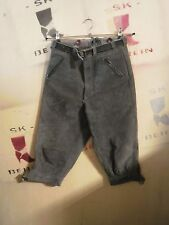 lego Gotha DDR XXS Trachten Lederhose kurz True Vintage leather trousers 3/4