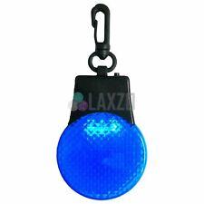 Fahrrad Mountainbike LED Hintere Sicherheitslicht Akku Inkl (Blau)