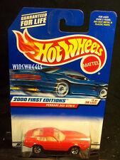 HOT WHEELS 2000 FE #1 61 -1 FERRARI 356 GTB/4 2 LINES TAMPO