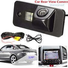 Car License Plate Rear View Reverse Backup Camera For Audi A3 A4 A5 RS4 Q7