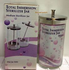 IKONNA TOTAL IMMERSION TOOL STERILIZER MEDIUM GLASS JAR 6 INCHES TALL