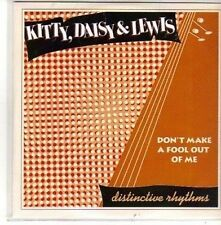 (CH184) Kitty, Daisy & Lewis, Don't Make A Fool Out Of Me - 2011 DJ CD