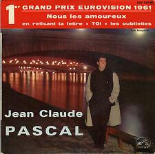 JEAN-CLAUDE PASCAL EN RELISANT TA LETTRE / LES OUBLIETTES (GAINSBOURG) FRENCH EP