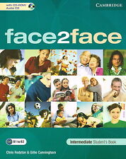 CAMBRIDGE Face2face Intermediate Student's Book with CD-ROM/Audio CD @NEW@