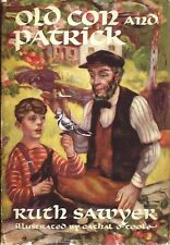 Ruth Sawyer, OLD CON AND PATRICK, 1st Edition, 1946, HC/DJ