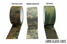 Camo cloth tape 50mm*10mts There colors available:Germany spot