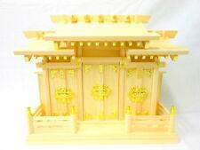 KAMIDANA Japanese Shinto Shrine miniature god shelf 3 doors JINJA Buddhist No.si