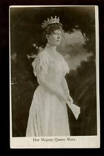 Royalty Her Majesty QUEEN MARY Davidson Bros RP PPC