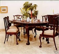 Esszimmer LOIS STIL Mahagoni 6 Stühle Tisch 250 cm