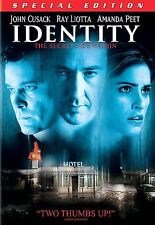 DVD: IDENTITY [JOHN CUSACK,RAY LIOTTA] W/S [ENGLISH, FRENCH VERSION] FREE SHIP