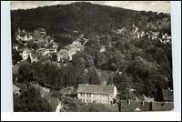 BAD SULZA Thüringen DDR Postkarte Ansichtskarte s/w Teilansicht AK gelaufen