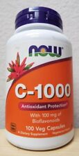Now Foods C-1000 Antioxidant Protection Dietary Supplement - 100 Capsules