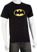 DC Comics Classic Batman Logo Yellow Symbol Adult T-Shirts - OFFICIAL