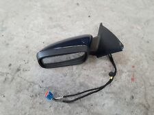 Volvo V50 S40 Left Door Mirror Blue 613