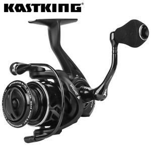 KastKing Zephyr Spinning Fishing Reel 8BBs 22LB Carbon Drag 5.2:1 Gear Ratio